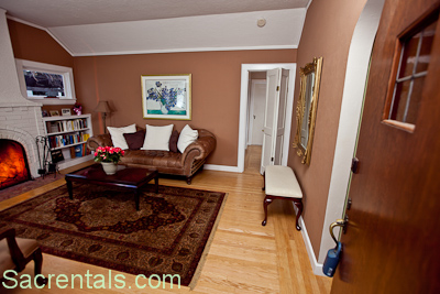 Formal Living Room  on Formal Living Room   Solid Mahogany Door