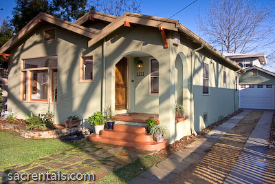 sacramento rental house oak park east sacramento uc davis med center