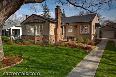 This East Sacramento rental house is rented. Please see our coming rentals page for more rental properties