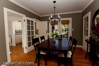 Stunning dining room french doors gallery home design for Dining room ideas with french doors